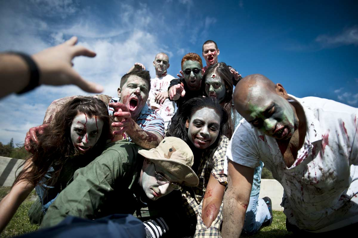 Zombies to parade through Poole this Halloween