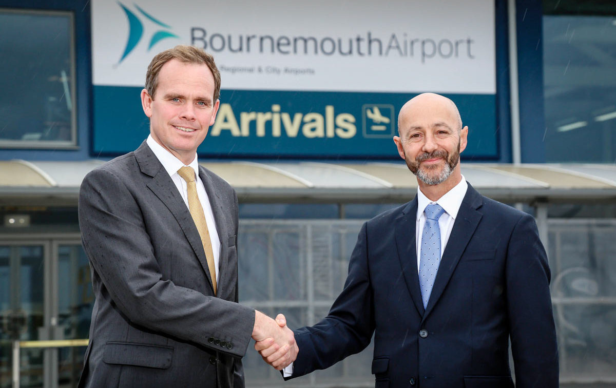 Lift-off for Bournemouth Airport with new Managing Director