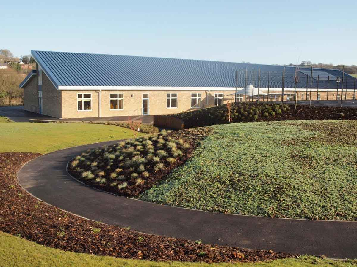 Newly built village school wins national award