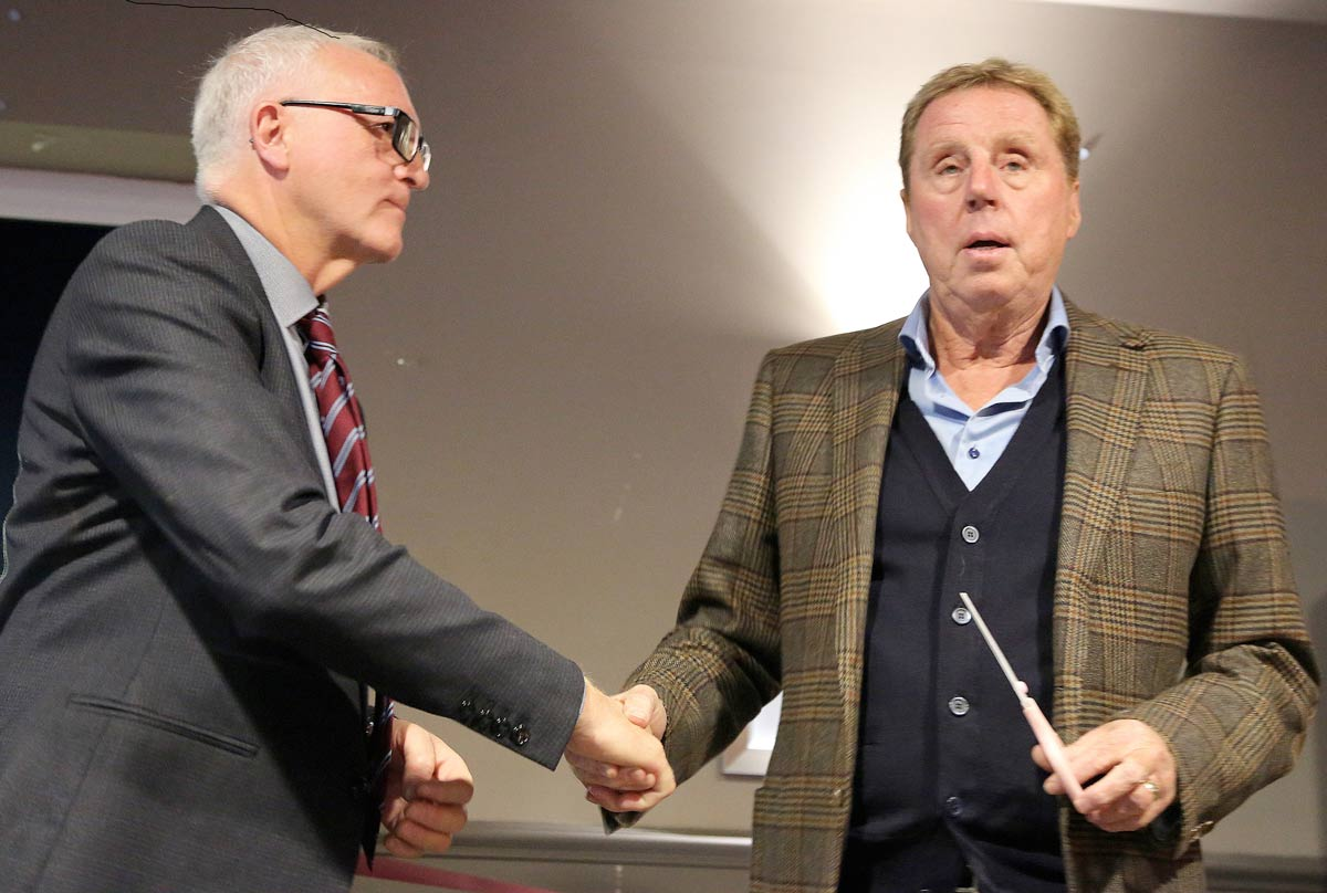 Harry Redknapp unveils Hamworthy United FC's extended clubhouse