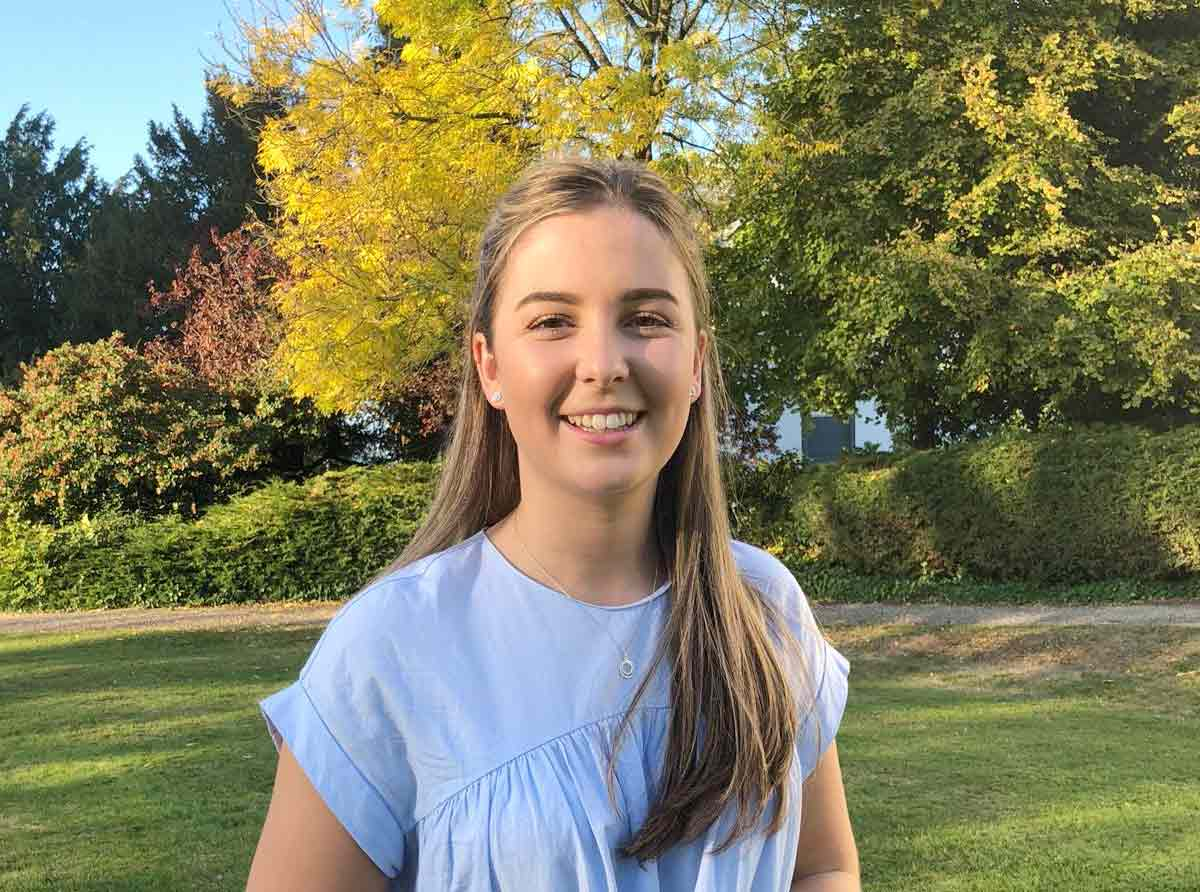 Poole student awarded scholarship for top academic performance