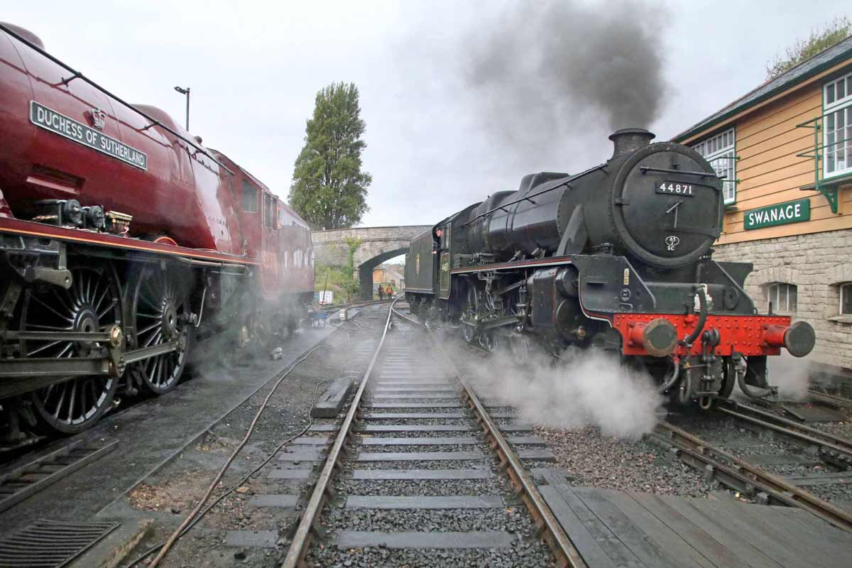 Historic Locomotive to haul trains in Purbeck during half term week
