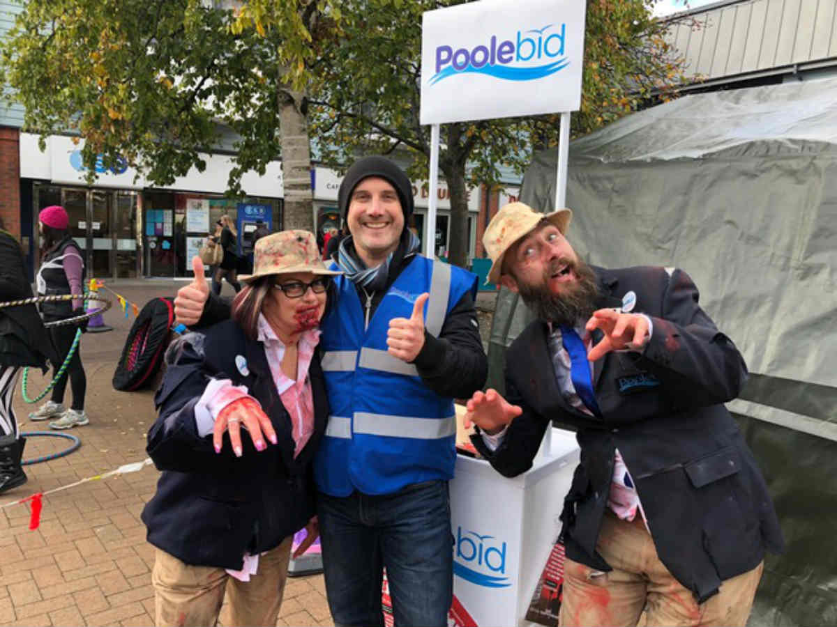 Poole Zombie Fest takes over the High Street