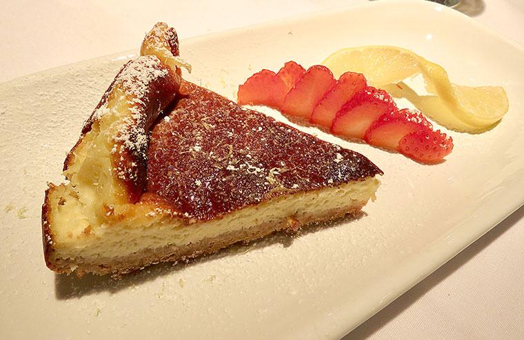 La Lambretta cheesecake