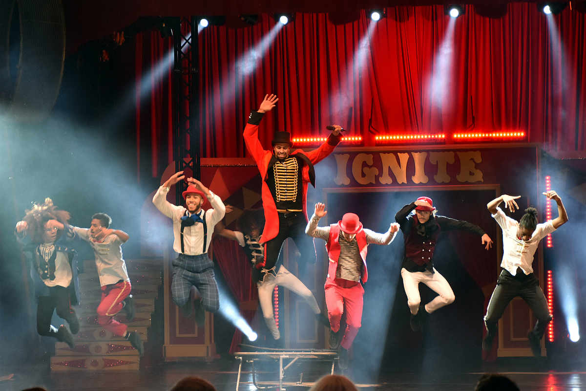 Diversity presents 'IGNITE' - The street dance circus spectacular at Canford Park Arena
