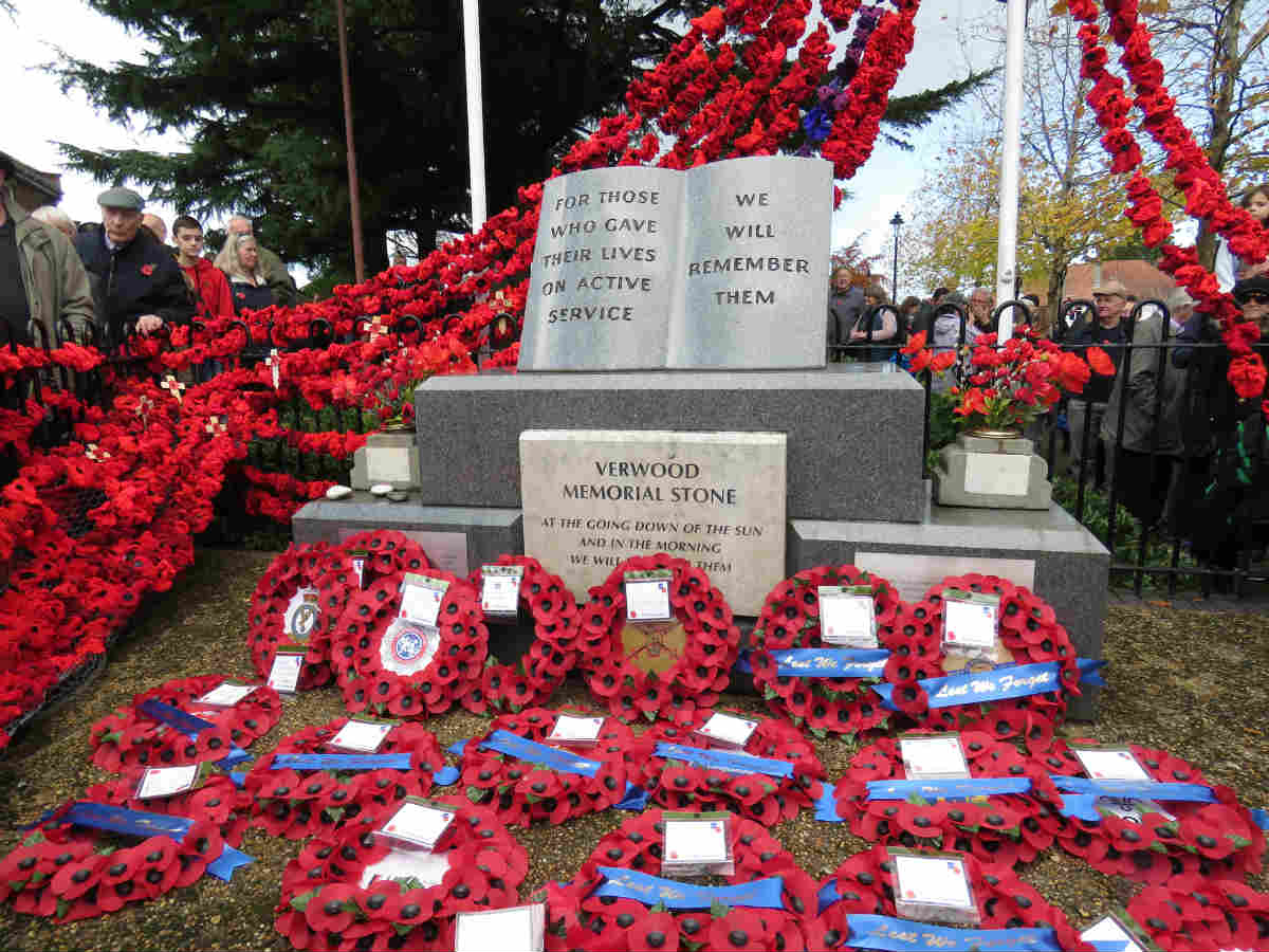 100 years commemorated since the end of WW1