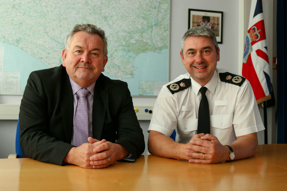 """Austerity in policing isn't over"" says Dorset Police and crime commissioner Martyn Underhill"