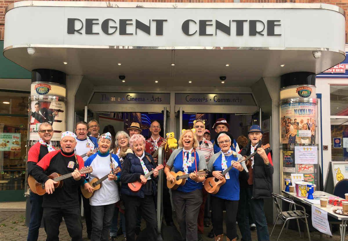 Regent Centre raises £1,562 for Children in Need