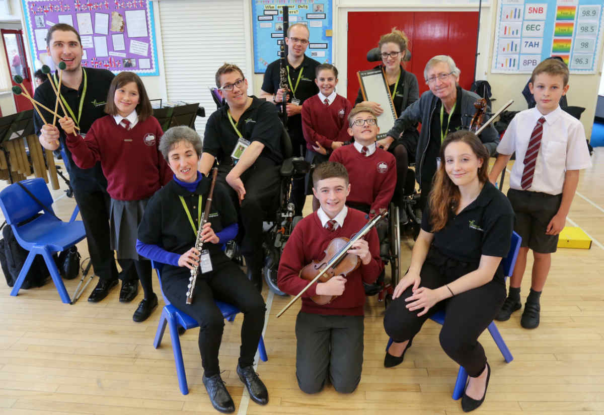BSO Resound strikes a chord with school children