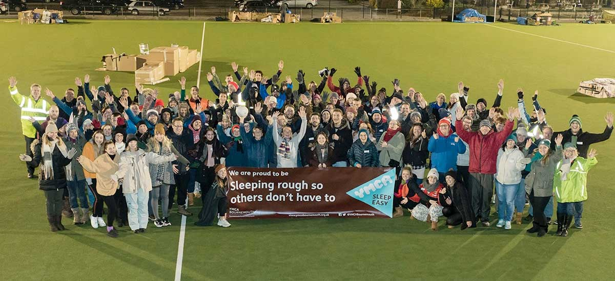 Record-breaking £25,000 raised for YMCA Bournemouth