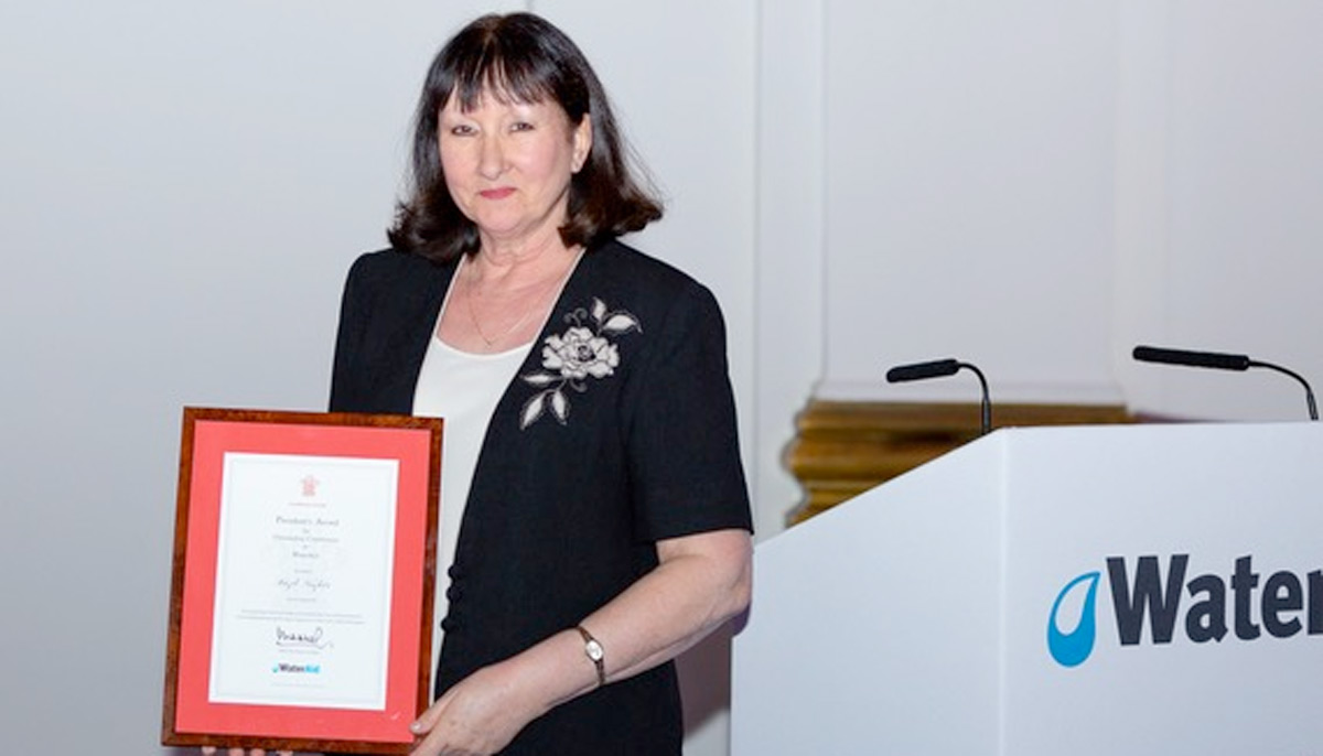 Local WaterAid Supporter Receives President's Award