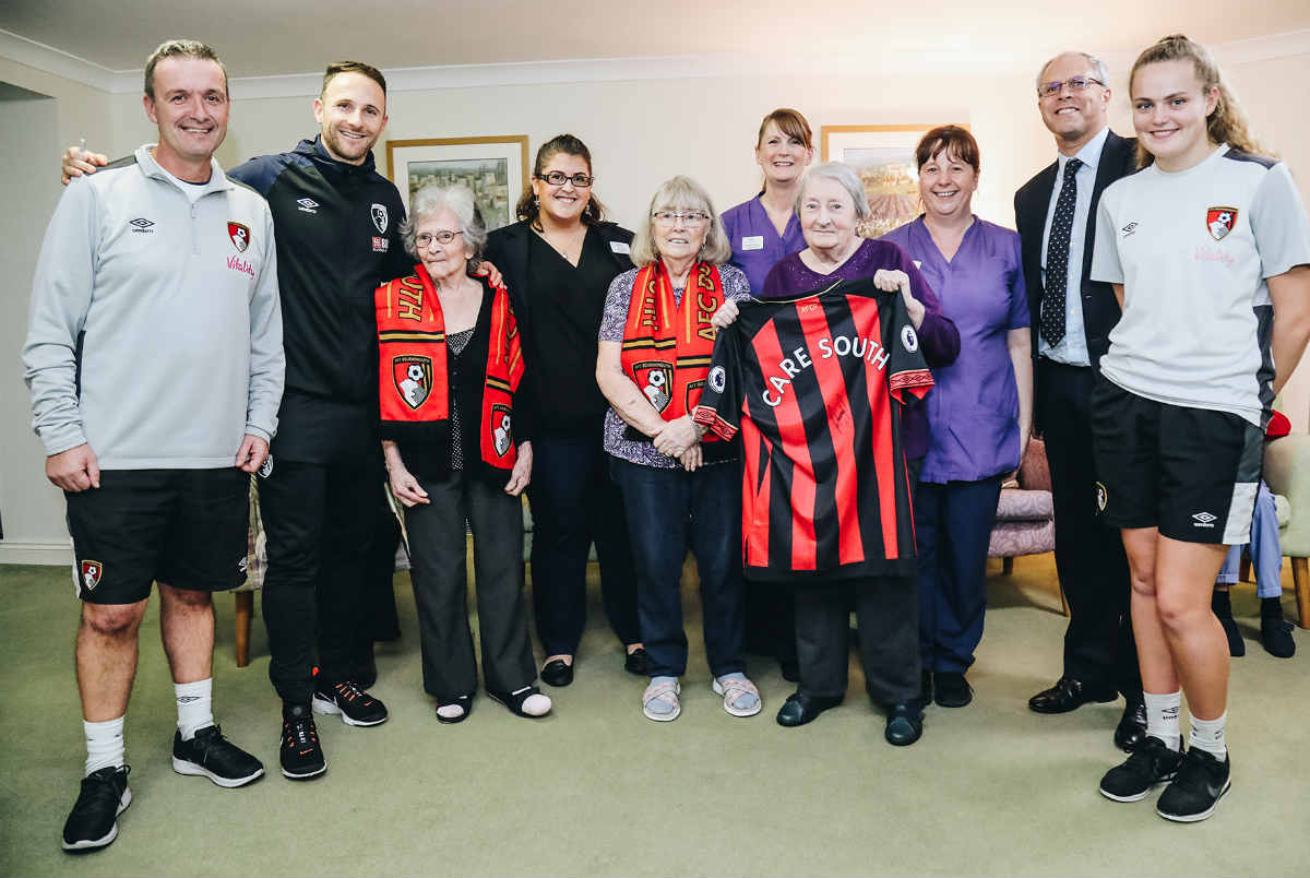 Care South renews partnership with AFC Bournemouth for fifth year