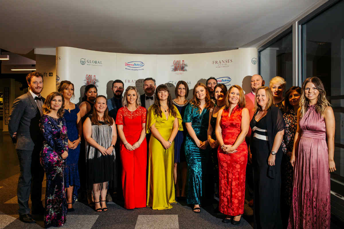 Over £90,000 raised at Diverse Abilities gala ball