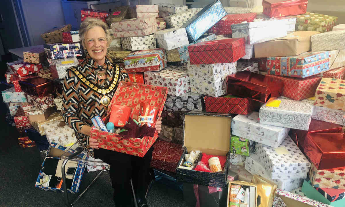 Success for Homeless Christmas Shoebox Appeal