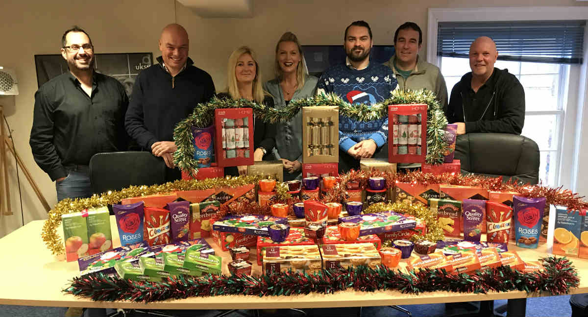 UKSV donates food for Ringwood's Foodbank and urges others to join them