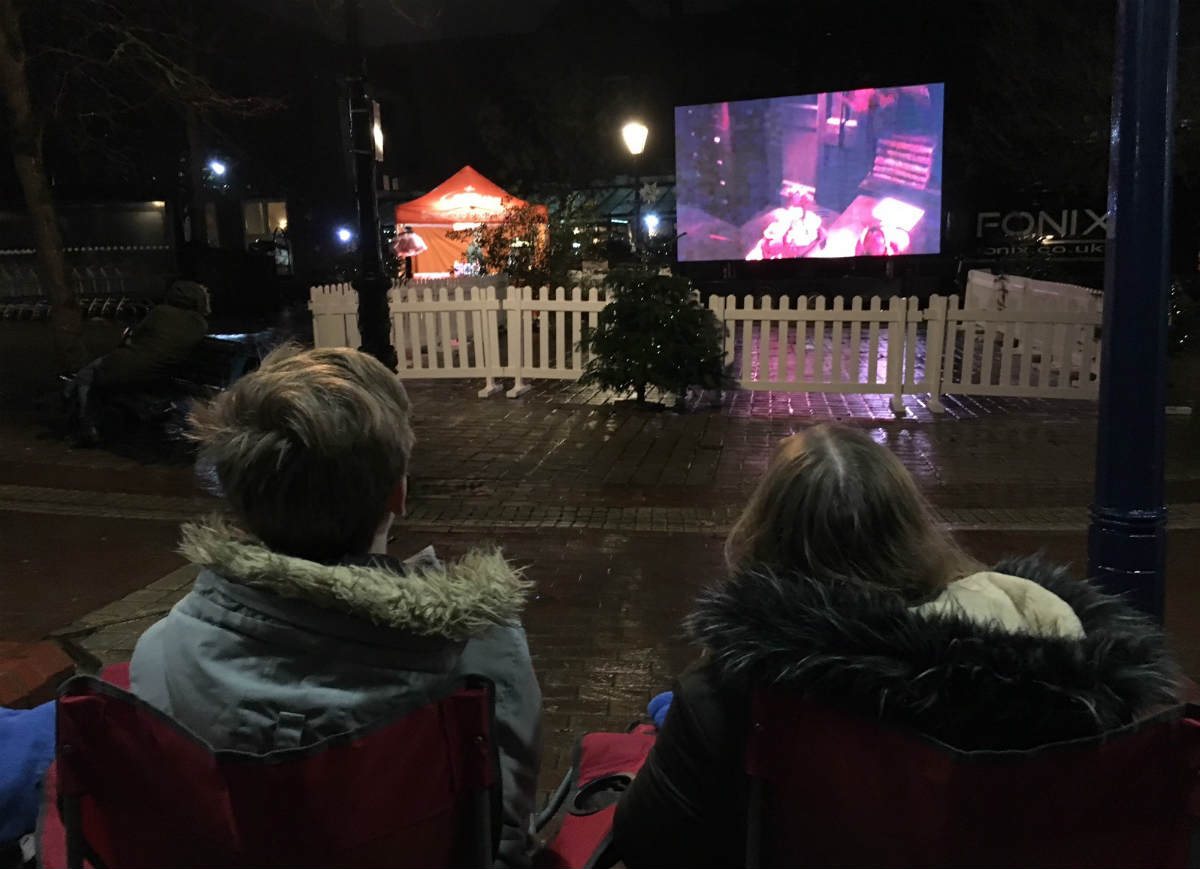 Poole BID provides free festive films