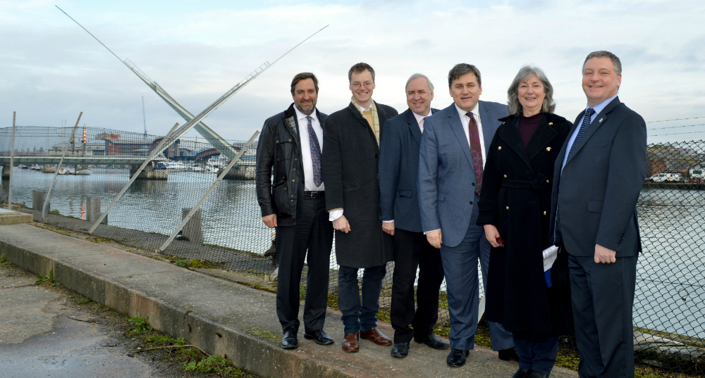 Housing Minister visits Poole