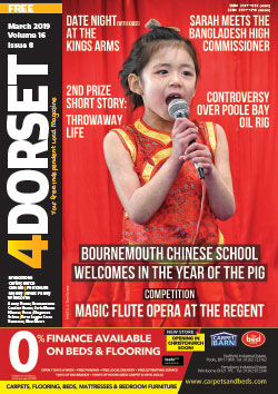 4Dorset March 2019 front cover
