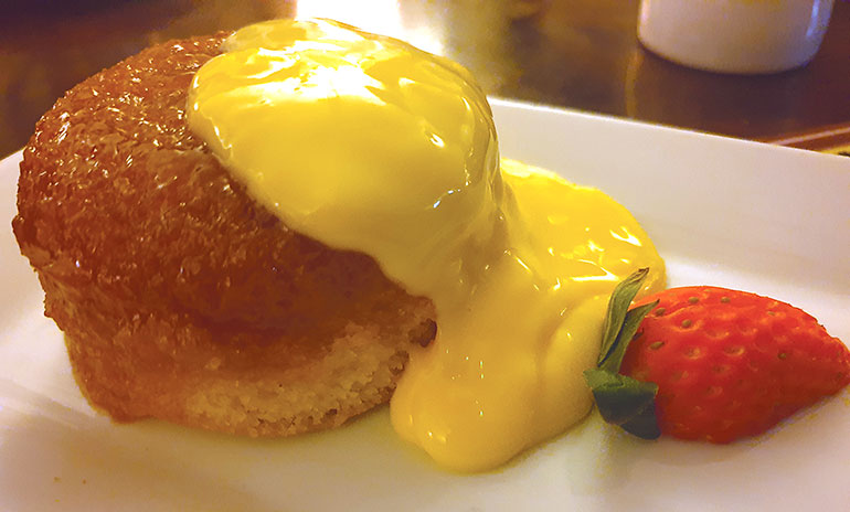Steamed Syrup Pudding Kings Arms Longham