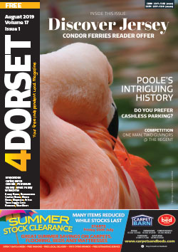 4Dorset August 2019 front cover
