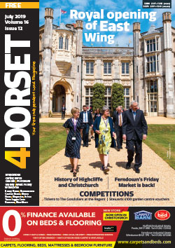 4Dorset July 2019 front cover