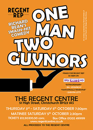 One Man Two Guvnors poster