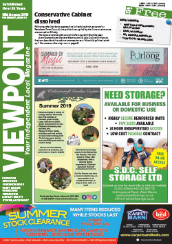 Viewpoint August 2019 front cover