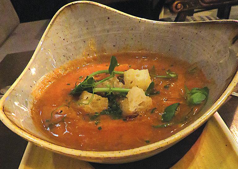 Moroccon chick pea soup