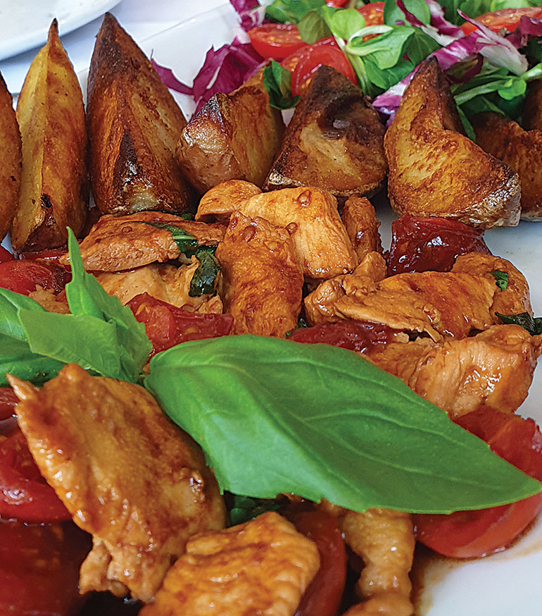 Pollo Tricolore