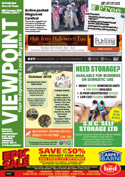 Viewpoint October 2019 front cover