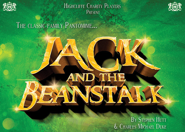 Highcliffe Charity Players Jack & the Beanstalk flyer