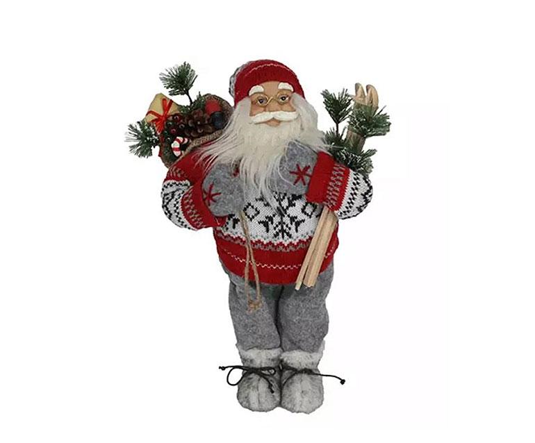 Stolen Santa statue