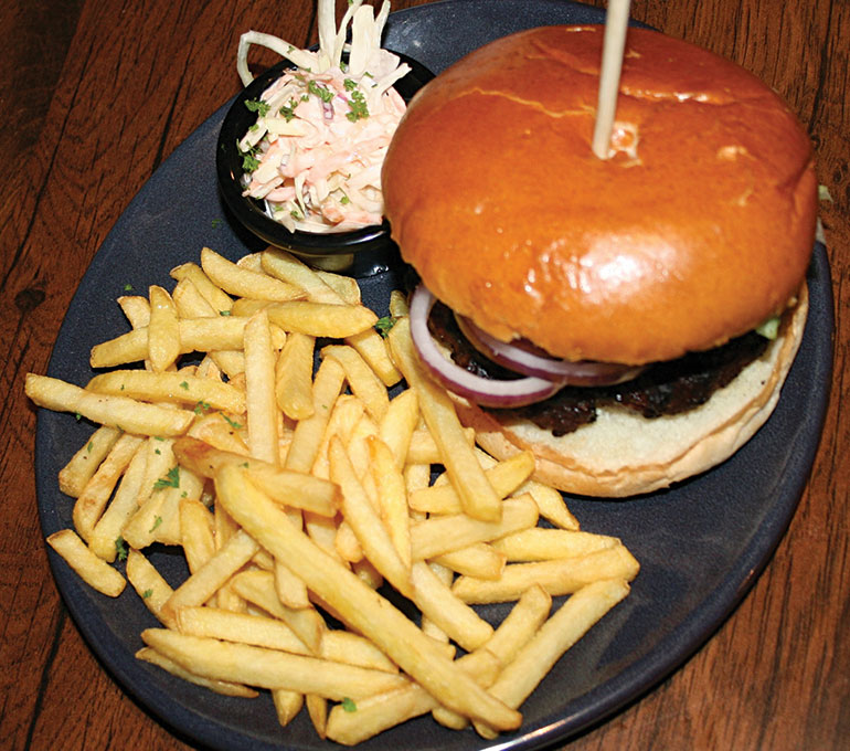 Classic Burger at The Coventry Arms