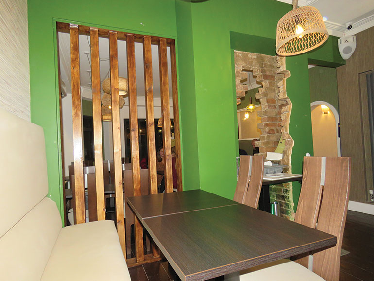 Tiien Southbourne bar area
