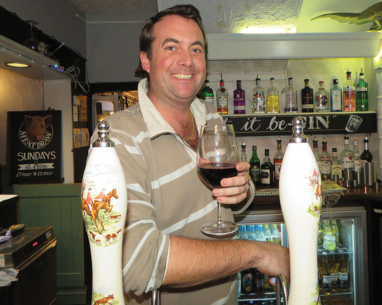 Paul from Albion Inn Verwood