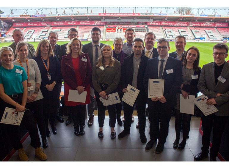 Award-winning apprentices at Apprentices Unlocked