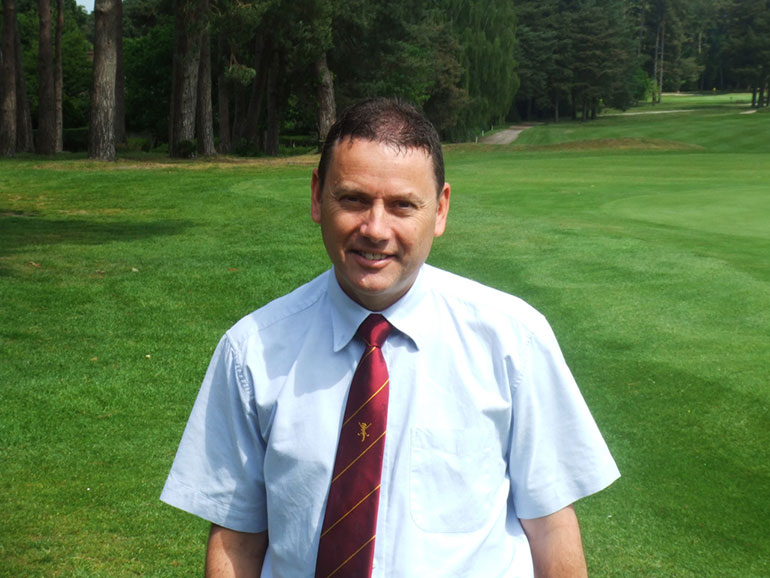 Ian Walton Ferndown Golf Club