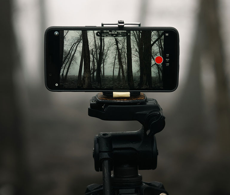 Making a movie on a mobile