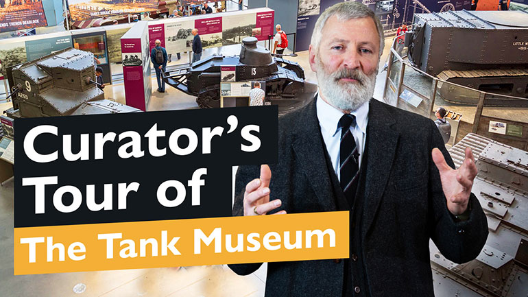 Tank Museum Curator's Tour