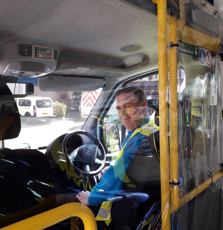 Bus protective trim