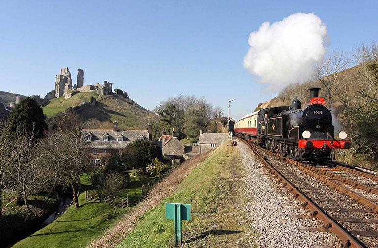 Swanage steam train