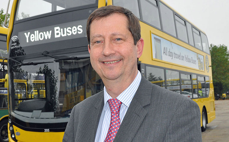 David Squire, managing director Yellow Buses