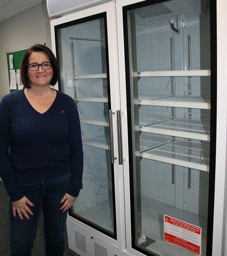 Community fridge in Wimborne