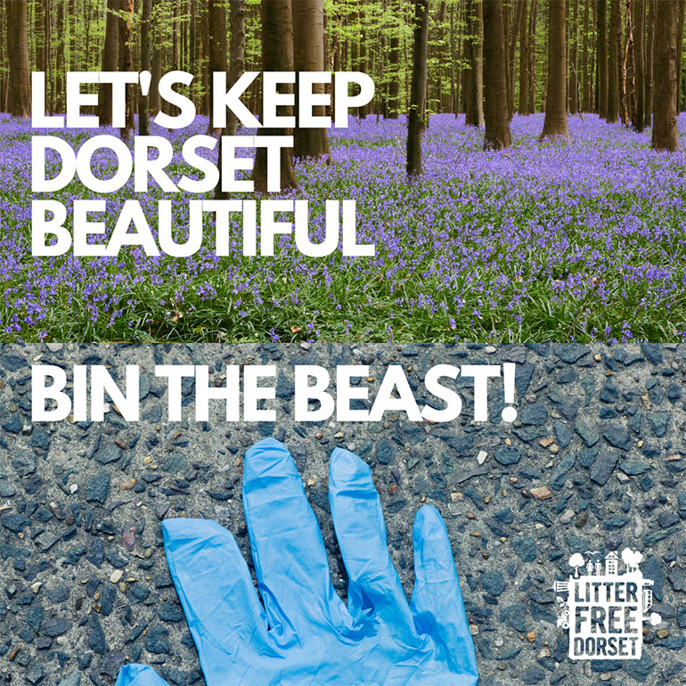 Let's Keep Dorset Beautiful Bin The Beast