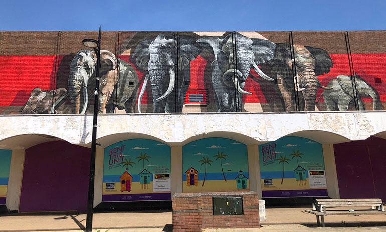 Boscombe-mural