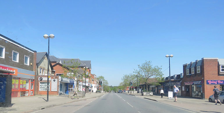 Ferndown-High-Street