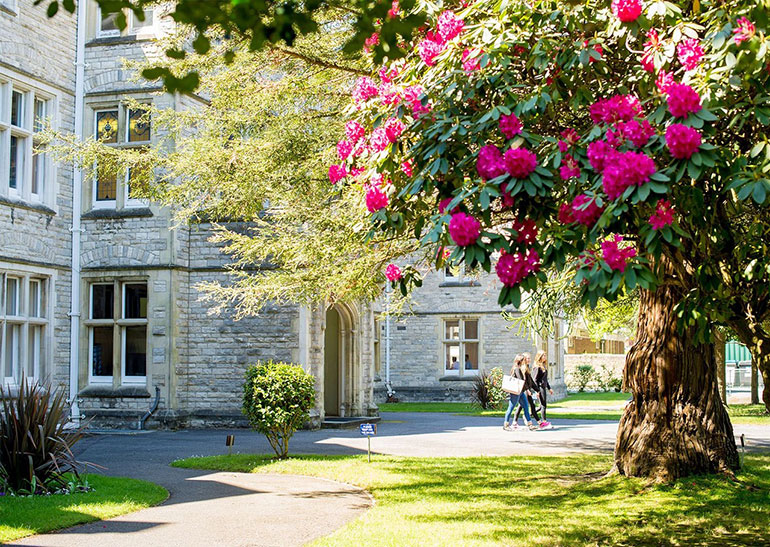 AECC Parkwood Campus in Bournemouth © AECC University College
