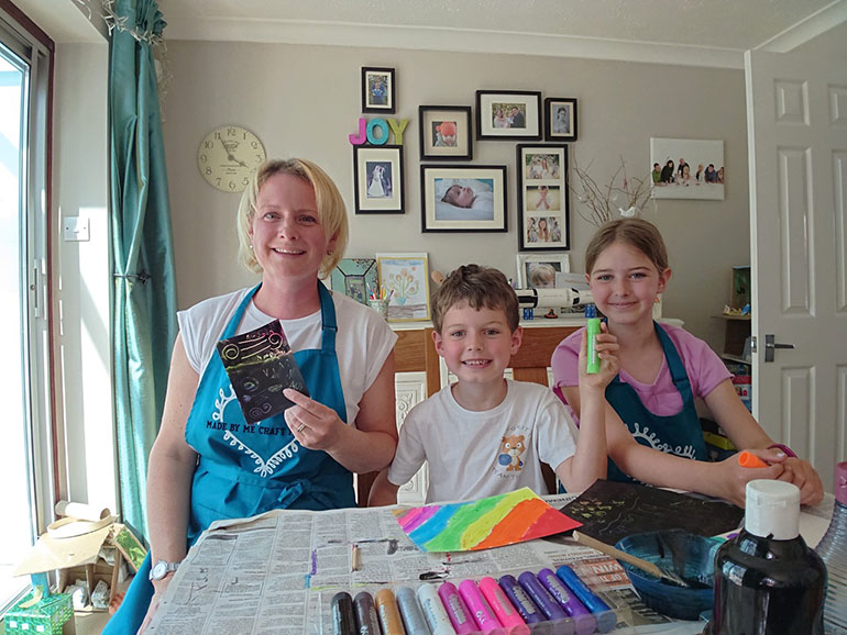 Lexy's Craft Along With Me tutorials are popular, with some videos reaching over 24,000 people