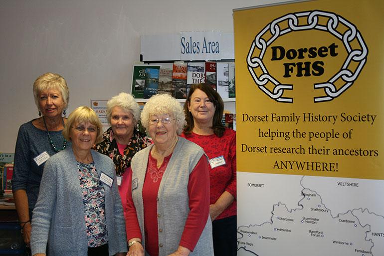 Members of the society pictured in October last year. Photo by Marilyn Barber