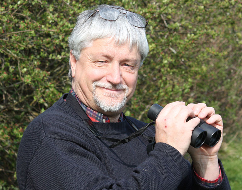 End of an era as Professor Nick Sotherton retires